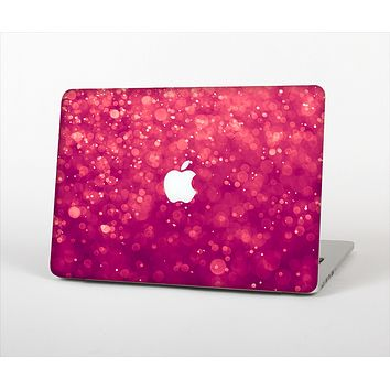 The Unfocused Pink Glimmer Skin Set for the Apple MacBook Air 13""