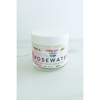 Rosewater & Argan Facial Cream