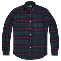 Gitman Vintage Flannel Plaid Shirt