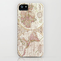 An Accurate Map iPhone & iPod Case by Catherine Holcombe