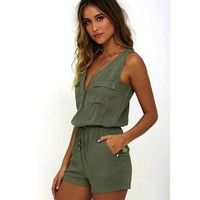 Women Cotton Jumpsuits & Rompers  0940-87