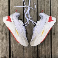 "Puma RS-0/X ""White&Red"" Men Women Running Shoes"