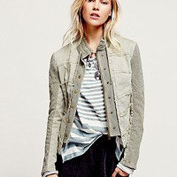Free People Womens Structured Layers Jacket
