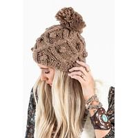 Countryside Skies Beanie - Taupe