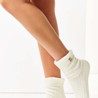 Cosy Ribbed Knit Crew Socks - Urban Outfitters
