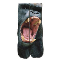 Gorilla Scream Socks