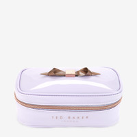 Slim bow jewelry case - Light Purple | Gifts for Her | Ted Baker