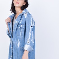Totally Ripped Denim Jacket