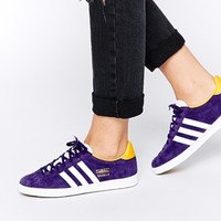 Adidas Gazelle OG Dark Purple Trainers