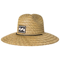 Billabong Men's Tides Straw Hat Natural One