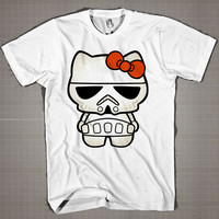 STAR WARS MINI  Mens and Women T-Shirt Available Color Black And White