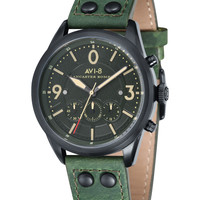 Lancaster Bomber Stainless Steel Watch, 52mm