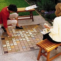 Crafts to make / Outdoor Scrabble Set
