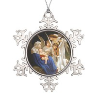 Song of the Angels Pewter Christmas Tree Ornament