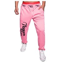 Men's Letters Printed Men Joggers Loose Tether