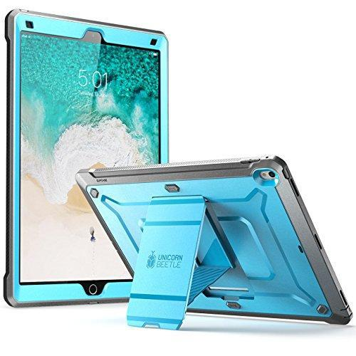Image of iPad Pro 12.9 inch case, SUPCASE [Heavy Duty] Unicorn Beetle PRO Series Full-body Rugged Protective Case Without Screen Protector for Apple iPad Pro 12.9 inch 2017 release (Blue/Black)