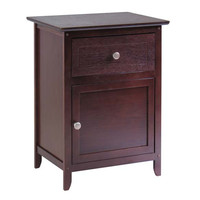 Night Stand/ Accent Table with Drawer & Cabinet