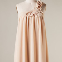 Spring Bouquet Dress - Champagne