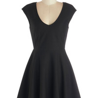 ModCloth Short Length Cap Sleeves A-line Your Very Best Dress