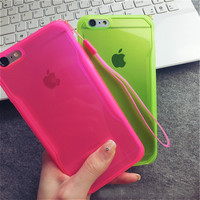 High quality Soft TPU Drop resistance Full surround Design cell phone case for iphone 6 6s 6Plus 6s Plus