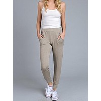 Cool And Collected Joggers   Mocha