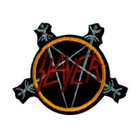 Slayer Seasons in the Abyss Patch Iron on Applique Metal Clothing