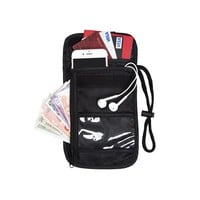 Adjustable Strap Travel Wallet