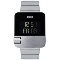 Braun: BN10 Digital Watch With EasySkroll - Stainless Steel (BN0106SLBTG)
