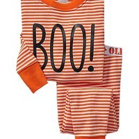 "Striped ""Boo"" PJ Sets for Baby"