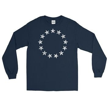 13 Stars Vintage Betsy Ross Long Sleeve T-Shirt