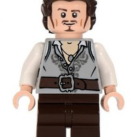 Will Turner Lego Pirates of the Caribbean Minifigure