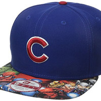 New Era Cap Men's Viza Print Chicago Cubs Star Wars 9Fifty Snapback Cap, Blue, One Size