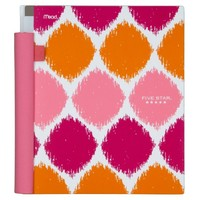 Five Star Style AdvanceNotebook - 2 Subject, 120-Count CR, Pink (72220)