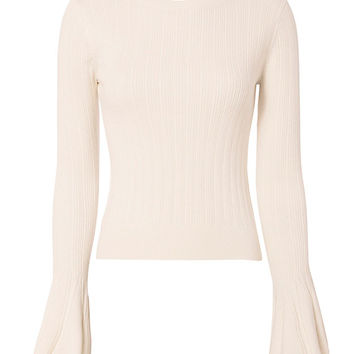 Exclusive for Intermix Chelsea Bell Sleeve Knit - INTERMIX®