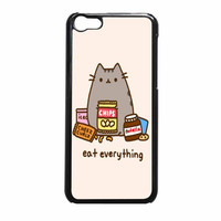 Pusheen The Cat Eat Everything iPhone 5c Case