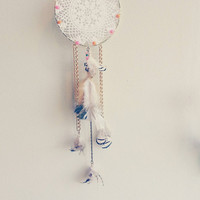 Dream Catcher, Gold, Gift for him, Gift for her, gift for baby, bohemian, bedroom decor ideas, Home and Living, Boho, Home Decor Ideas