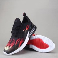 Nike Air Max 270 Flyknit Women Men Fashion Casual Sneakers Sport Shoes