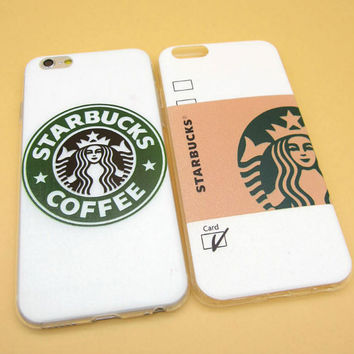 Starbuck Coffee Cup Logo Phone Case Cover For iPhone 6Plus 5.5 6 4.7 S 5S 5C SE 4 4S Samsung Galaxy