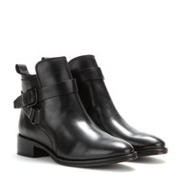 mcq alexander mcqueen - bridal leather ankle boots