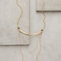 Draped Condesa Necklace by Anthropologie Gold One Size Necklaces