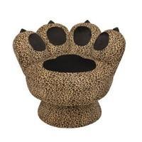 LumiSource Paw Chair, Leopard