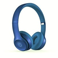 Beats Solo 2 Wired On-Ear Headphone - Royal Collection - Blue Sapphire
