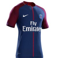 Paris Saint-Germain Nike 2017/18 Home Authentic Jersey - Navy