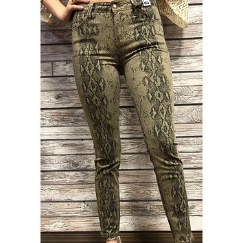 Snake Jeans- Taupe