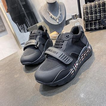 BURBERRY  Woman's Men's 2020 New Fashion Casual Shoes Sneaker Sport Running Shoes