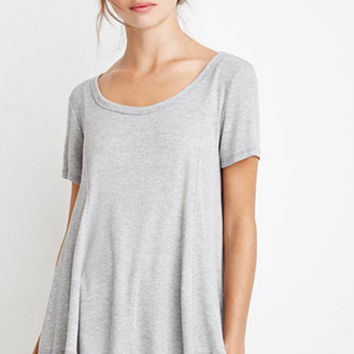 Ribbed Trapeze Tee
