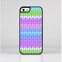 The Bright-Colored Knit Pattern Skin-Sert for the Apple iPhone 5-5s Skin-Sert Case