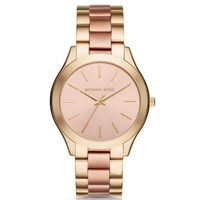 Slim Runway Two-Tone Watch | Michael Kors