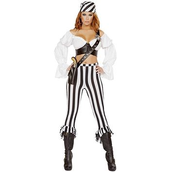 Pirates of the Caribbean Deck Hand Women's Costume