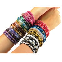Lily and Laura Glass Beaded Bracelets - Nepal